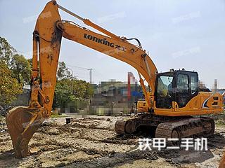 安徽-马鞍山市二手龙工LG6225E挖掘机实拍照片