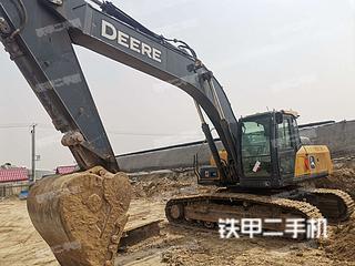 河北-保定市二手约翰迪尔E240挖掘机实拍照片