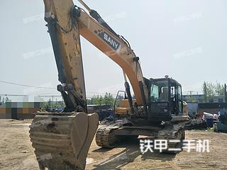 四川-成都市二手三一重工SY245H挖掘机实拍照片