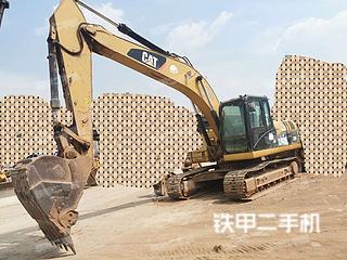云南-昆明市二手卡特彼勒320D液压挖掘机实拍照片
