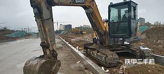 山东-泰安市二手三一重工SY60C挖掘机实拍照片