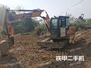 贵州-贵阳市二手三一重工SY65C挖掘机实拍照片