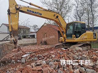 许昌小松PC200-7挖掘机实拍图片