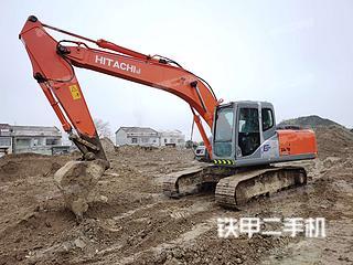 宁波日立ZX200挖掘机实拍图片