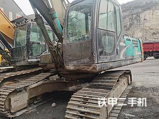 山西-忻州市二手神钢SK250-8挖掘机实拍照片