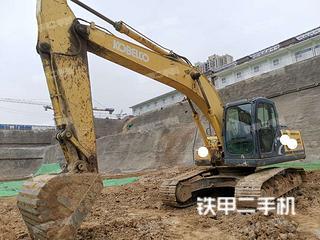 河北-保定市二手神钢SK210LC-8挖掘机实拍照片