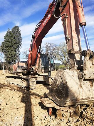 二手日立挖掘机右前45实拍图225