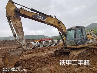 江苏-南京市二手卡特彼勒320DGC液压挖掘机实拍照片