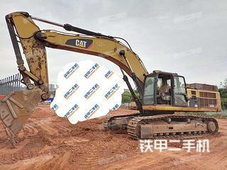 四川-乐山市二手卡特彼勒345D挖掘机实拍照片