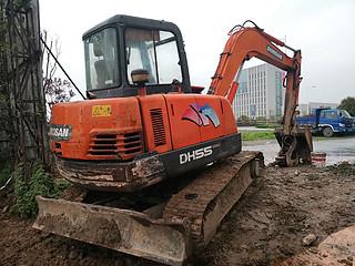 二手斗山挖掘机右后45实拍图163