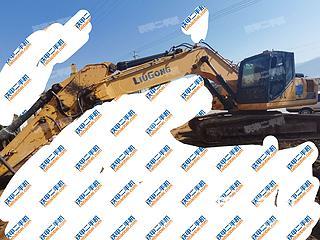 云南-大理白族自治州二手柳工CLG926E挖掘机实拍照片