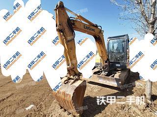 山东-泰安市二手柳工CLG906D挖掘机实拍照片