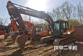 北京沃尔沃EC170DL挖掘机实拍图片