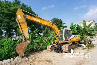 广州加藤HD820III挖掘机实拍图片
