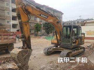 云南-玉溪市二手三一重工SY135C挖掘机实拍照片