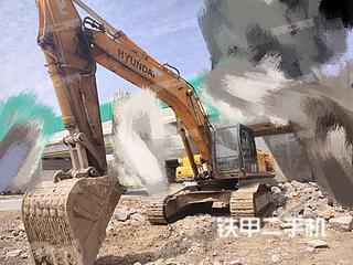 二手现代 R375LC-7H 挖掘机转让出售