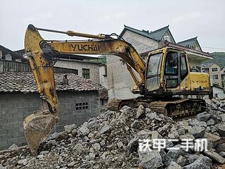 南宁玉柴YC135-7挖掘机实拍图片