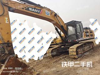 内蒙古-呼和浩特市二手三一重工SY485H挖掘机实拍照片
