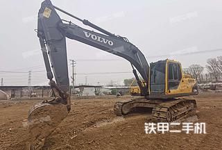 北京沃尔沃EC210BLC挖掘机实拍图片