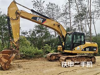 湖南-长沙市二手卡特彼勒320D液压挖掘机实拍照片