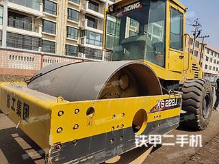 山东-青岛市二手万邦重科SRM220压路机实拍照片