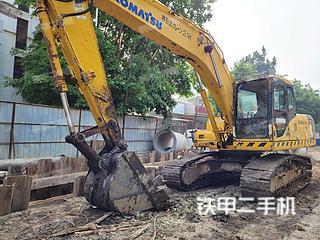 广东-肇庆市二手小松PC200-7挖掘机实拍照片