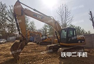 北京-北京市二手卡特彼勒320D液压挖掘机实拍照片