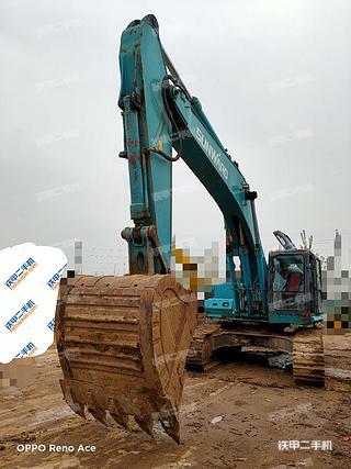 河南-郑州市二手山河智能SWE350ES挖掘机实拍照片