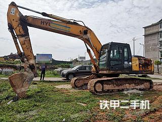 二手现代 R265LC-7 挖掘机转让出售