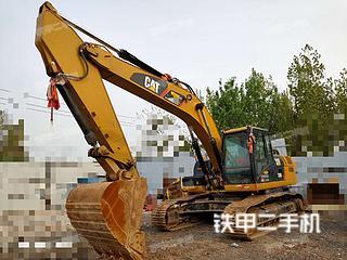 河南-郑州市二手卡特彼勒326D2L液压挖掘机实拍照片