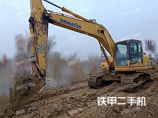 安徽-巢湖市二手小松PC200-8挖掘机实拍照片