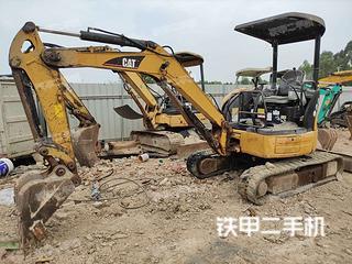 广州卡特彼勒303CCR挖掘机实拍图片