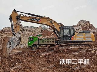 二手三一重工 SY485H-10 挖掘机转让出售