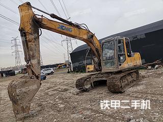 徐工XE150D挖掘機實拍圖片