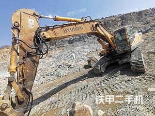二手现代 R385LC-9T 挖掘机转让出售
