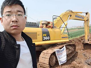 二手小松挖掘机实拍图1