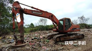 广西-贵港市二手斗山DH220LC-V挖掘机实拍照片