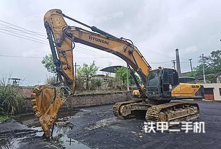 二手现代 R485LVS 挖掘机转让出售