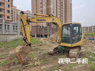 安徽-蚌埠市二手小松PC60-7挖掘机实拍照片