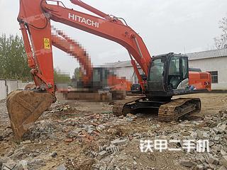 许昌日立ZX240-5A挖掘机实拍图片