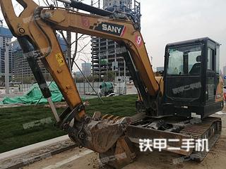 陕西-西安市二手三一重工SY55C挖掘机实拍照片