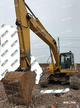 陕西-西安市二手小松PC220-8挖掘机实拍照片