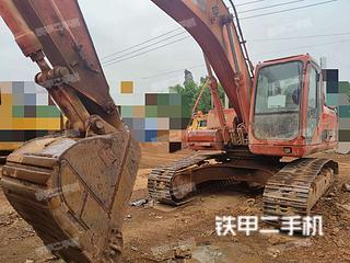 云南-昆明市二手斗山DH225LC-7挖掘机实拍照片