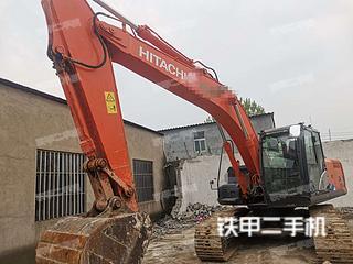 许昌日立ZX210LC-5A挖掘机实拍图片