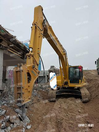 陕西-西安市二手小松PC240LC-8挖掘机实拍照片