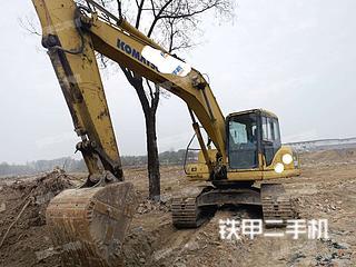 山东-济宁市二手小松PC200-7挖掘机实拍照片