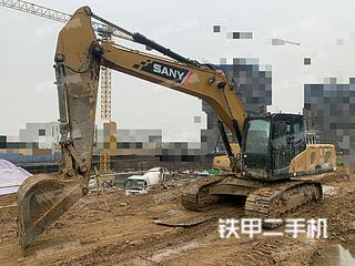 江苏-镇江市二手三一重工SY205C挖掘机实拍照片