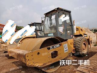 云南-昆明市二手龙工QX520B压路机实拍照片