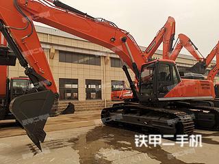 煙臺東方萬合DFWH385-9挖掘機實拍圖片