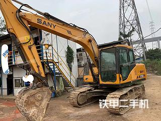广东-广州市二手三一重工SY135C挖掘机实拍照片